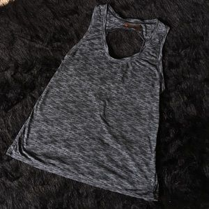 Zella Open Back Work Out Tank Top